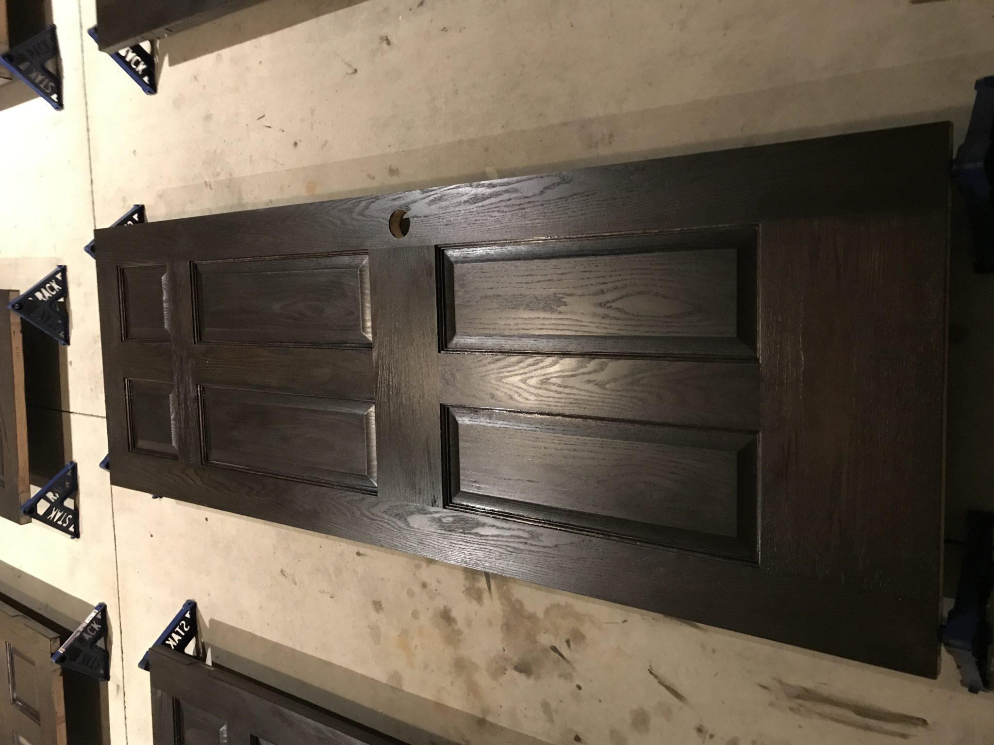door refinishing, wood refinishers, welborn floors, refinish door