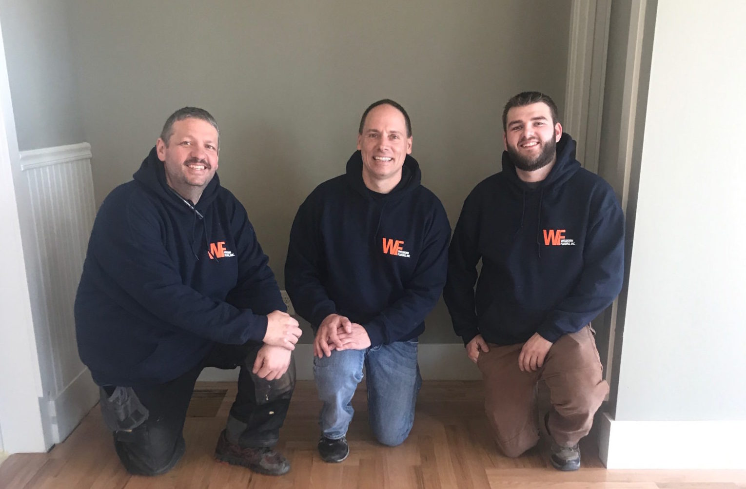 welborn floors, ryan welborn, dakota whelchel, jeremy haab, wood floor refinisher, wood floor installation, installers, wood floor refinishing, bloomington IL, central Illinois, dustless floor refinishing